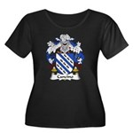 Cancino Family Crest Women's Plus Size Scoop Neck