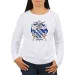 Cancino Family Crest Women's Long Sleeve T-Shirt