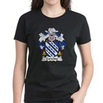 Cancino Family Crest Women's Dark T-Shirt