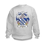 Cancino Family Crest Kids Sweatshirt