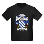 Cancino Family Crest Kids Dark T-Shirt