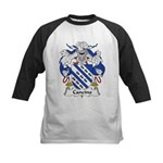 Cancino Family Crest Kids Baseball Jersey