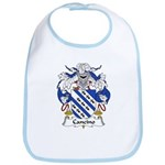 Cancino Family Crest Bib