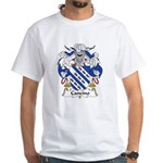 Cancino Family Crest White T-Shirt
