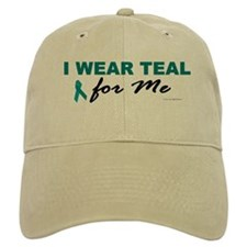 I Wear Teal For Me 2 Baseball Cap