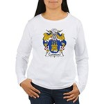 Caminero Family Crest Women's Long Sleeve T-Shirt