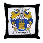 Caminero Family Crest Throw Pillow