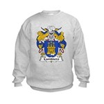 Caminero Family Crest Kids Sweatshirt