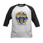 Caminero Family Crest Kids Baseball Jersey