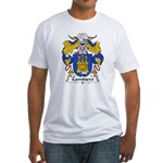 Caminero Family Crest Fitted T-Shirt