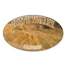 Death Valley National Park Oval Decal