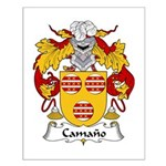 Camano Family Crest Small Poster