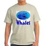 Whales Ash Grey T-Shirt