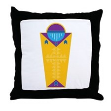 Funny Religion and beliefs Throw Pillow