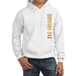 Soprano Sax Stamp Hooded Sweatshirt
