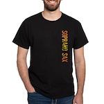 Soprano Sax Stamp Dark T-Shirt