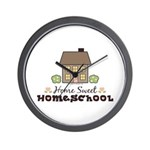 Home Sweet Homeschool Wall Clock Gift