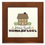 Home Sweet Homeschool Framed Tile Gift