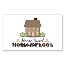 Home Sweet Homeschool Sticker Gift