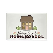 Home Sweet Homeschool Rectangle Magnet Gift