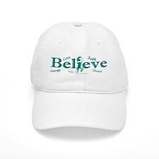Courage, Hope, Strength, Faith 3 (OC) Baseball Cap