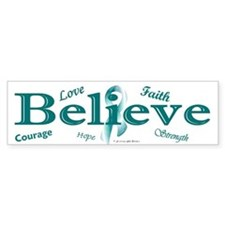 Courage, Hope, Strength, Faith 3 (OC) Car Sticker