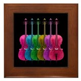 Colorful Cello Framed Tile