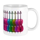 Colorful Cello  Tasse