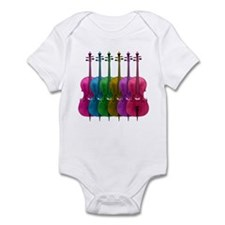 Colorful Cello Infant Bodysuit
