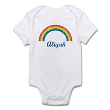 Aliyah vintage rainbow Infant Bodysuit