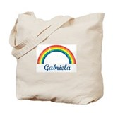 Gabriela vintage rainbow Tote Bag