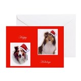 Sheltie Christmas Greeting Cards (Pk of 10)