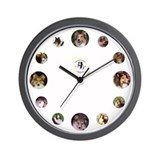 Sheltie Rescue Wall Clock