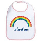 Marlene vintage rainbow Bib