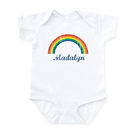 Madalyn vintage rainbow Infant Bodysuit