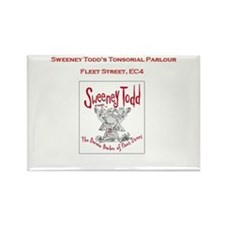Sweeney Todd Rectangle Magnet