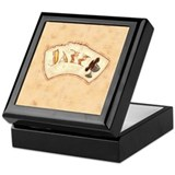 Jazz Fan Keepsake Box