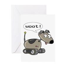 Robot Dog Greeting Card