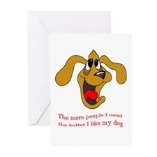People vs. Dog Greeting Cards (Pk of 10)
