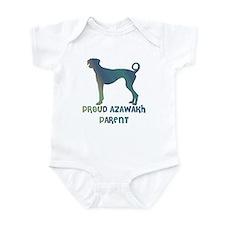 Proud Azawakh Parent Infant Bodysuit