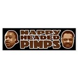 Nappy Headed Pimps Bumper Bumper Sticker