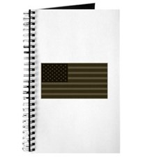 US Flag OD Patch Journal