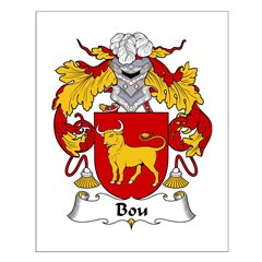Bou Family Crest Small Poster