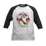 Borrajo Family Crest Kids Baseball Jersey