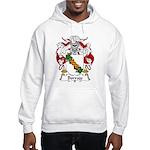 Borrajo Family Crest Hooded Sweatshirt