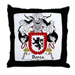 Borea Family Crest Throw Pillow