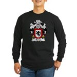 Borea Family Crest Long Sleeve Dark T-Shirt
