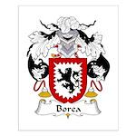 Borea Family Crest Small Poster