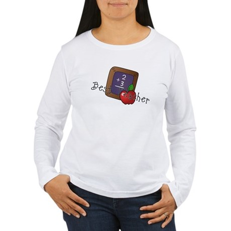Best Teacher Women's Long Sleeve T-Shirt
