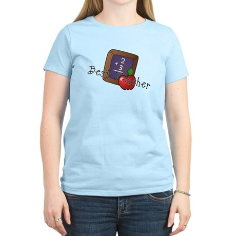 Best Teacher Women's Light T-Shirt